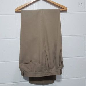 Perry Ellis Tan Dress Pants Size 36/34